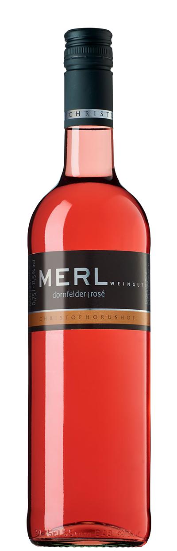 Dornfelder Rose halbtrocken 0,75 l