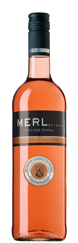 Merlot Rose feinherb BRONZE