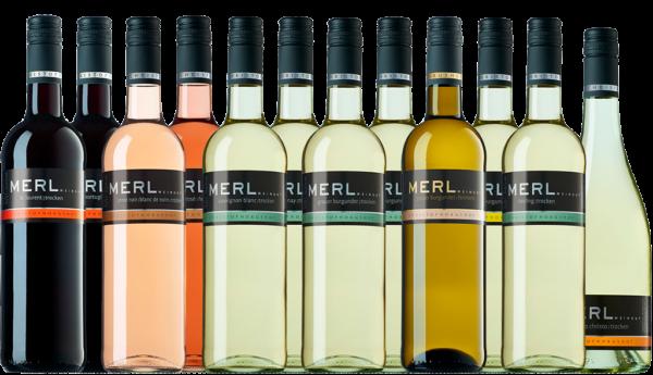 Probierpaket Neuer Jahrgang Weingut Merl