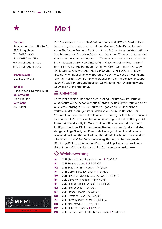 Eichelmann 2020 Weinbewertung