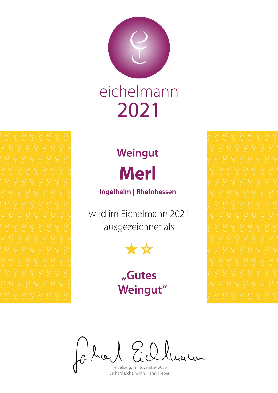 Eichelmann 2021